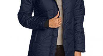 YOUTHUP Herren Wintermantel mit Stehkragen und Hochwertige Materialqualit/ät Kurze Jacke