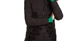 Desigual Damen Coat Mandala Mantel Schwarz Negro 2000 Herstellergroesse 46 310x165 - Desigual Damen Coat Mandala Mantel, Schwarz (Negro 2000), (Herstellergröße: 46)